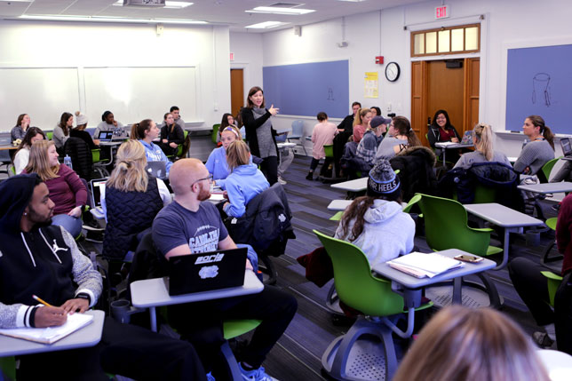 The University of North Carolina at Chapel Hill developed its Flexible Learning Initiative to create classrooms that would accommodate a wider range of instructional methods.